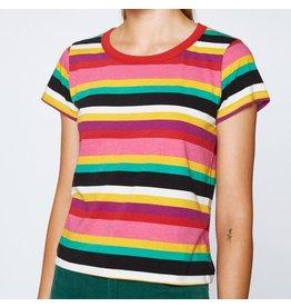 Pam & Gela Pam & Gela Rainbow Stripe Crew