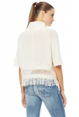 360 Cashmere 360 Brittany Fringe Sweater