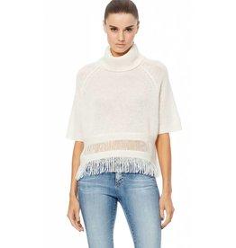 360 Cashmere 360 Brittany Fringe Sweater