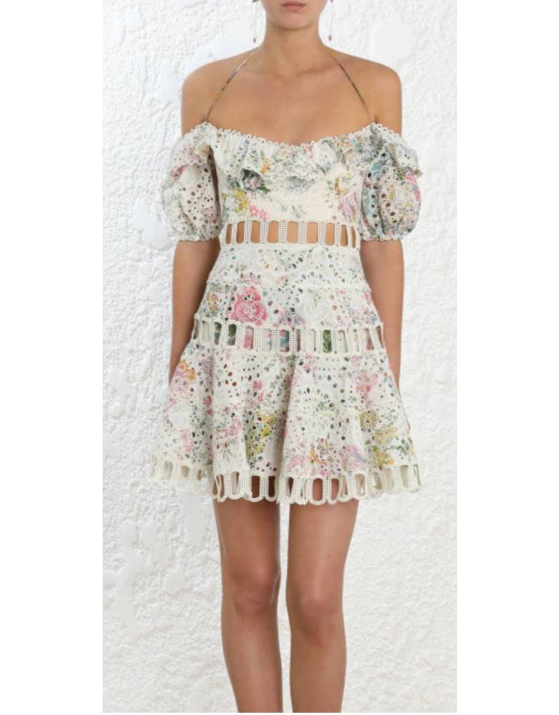 44e4932f6f265 Zimmerman Zimmermann Heather Off-Shoulder Dress ...