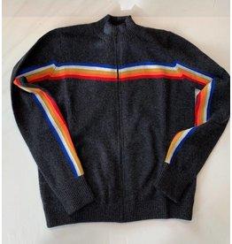 PRVLG Cashmere Stripe Track Jacket