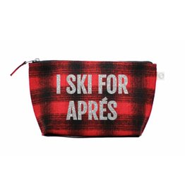 Quilted Koala Ski for Apres Clutch