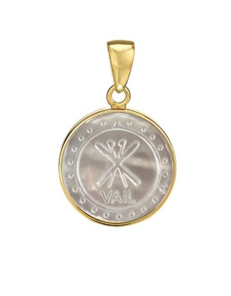 ASHA ASHA Vail Coordinate Charm Gold/MOP SM