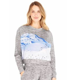 Terez Ski Trip Crewneck Sweatshirt