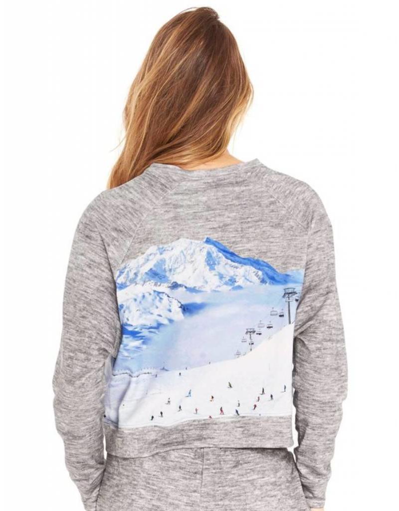 Terez Terez Ski Trip Crewneck Sweatshirt
