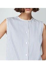 Victoria Beckham Victoria Beckham Pleat Hem Shirtdress