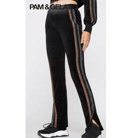 Pam & Gela Track Pant w. Side Slit