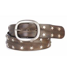 Brave Leather Miri Star Studded Belt