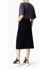 See By Chloe See by Chloe Velvet Midi Skirt