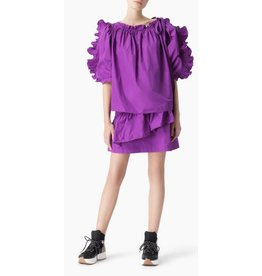 See By Chloe Smock Neck Frilled Blouse