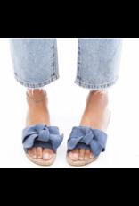 Manabei Manebi Hamptons Sandal w/ Bow