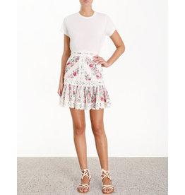 Zimmerman Honour Pintuck Panelled Skirt