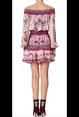 Camilla Camilla Off Shoulder Short Dress