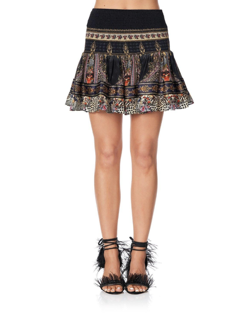 b618b79261e Camilla Camilla Short Shirred Skirt