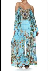 Camilla Camilla Wide Leg Trouser w/ Front Pockets
