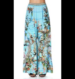 Camilla Wide Leg Trouser w/ Front Pockets