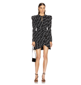 Jonathan Simkhai Star Print Wrap Dress