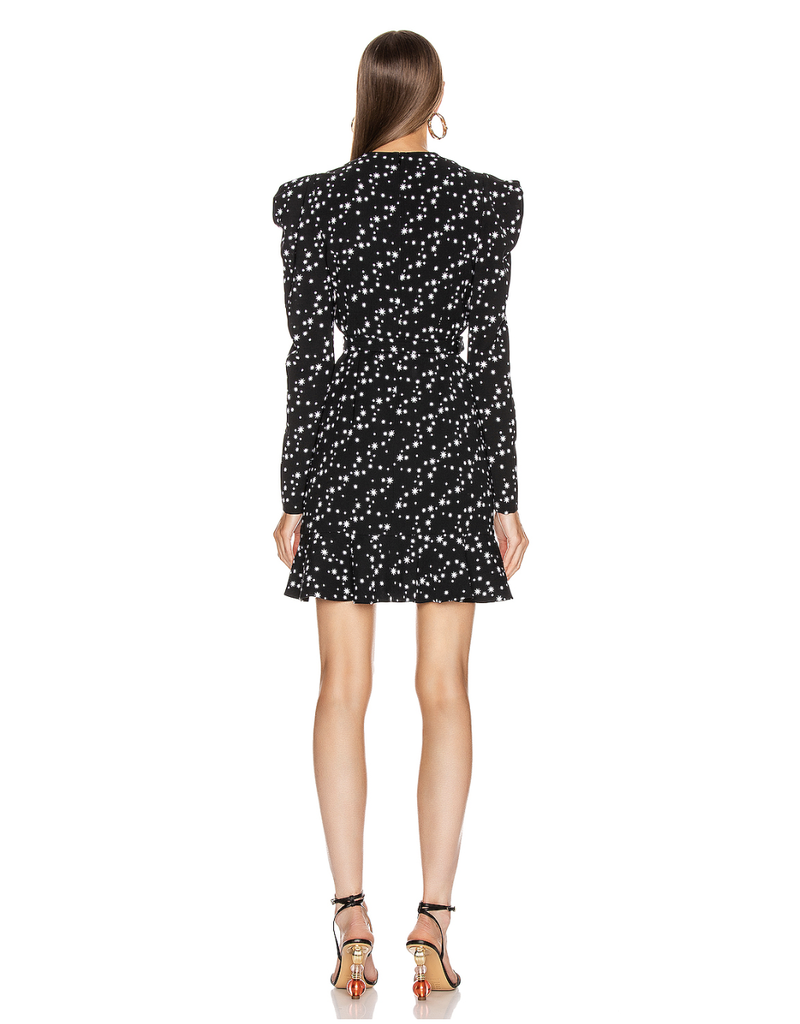 Jonathan Simkhai Jonathan Simkhai Star Print Wrap Dress
