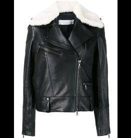 Victoria Beckham Shearling Collar Jacket