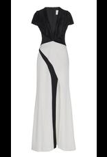 Galvan London Galvan London Cap Sleeve Wrap Dress