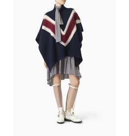 See By Chloe Patterned Poncho