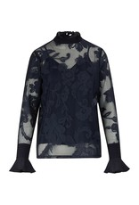 See By Chloe See by Chloe Lace Top w/ Collar