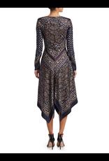 Jonathan Simkhai Jonathan Simkhai SCARF PRINT DEEP V L/S DRESS