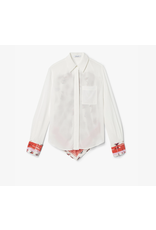 Derek Lam - 10 Crosby Derek Lam L/S Button Down Shirt w/ Contrast Back