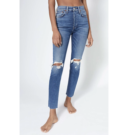 Re / Done High Rise Ankle Crop