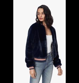 Mother The Letterman Fur Jacket