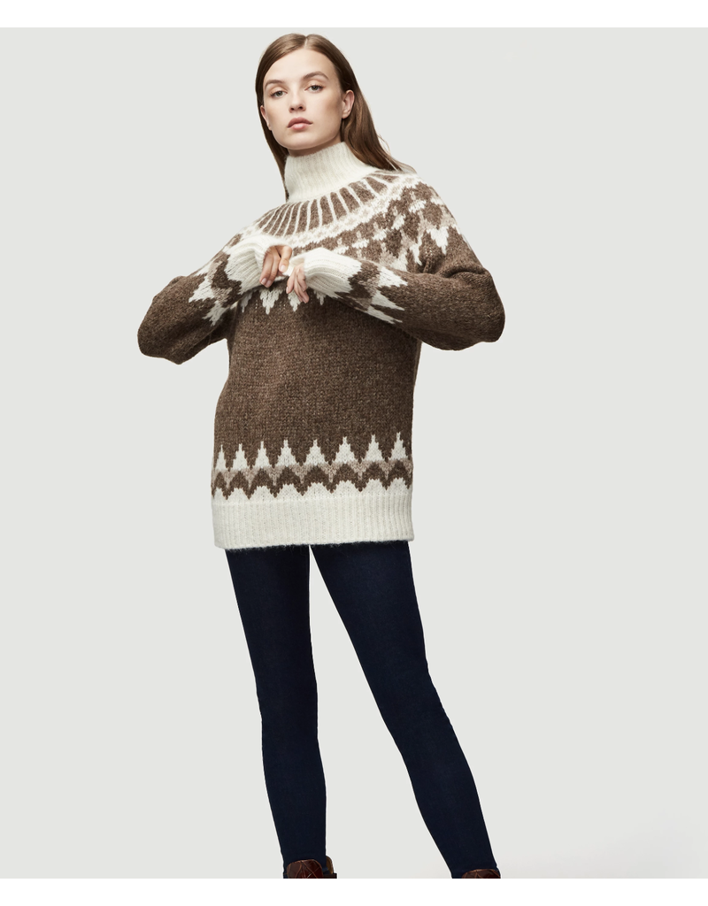 Frame Frame FAIRISLE TURTLENECK