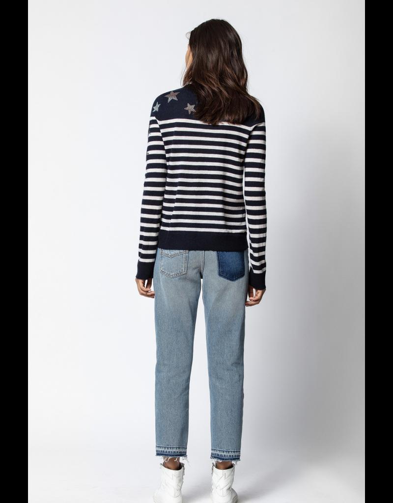 Zadig & Voltaire Zadig & Voltaire MISS CP STRIPES Sweater
