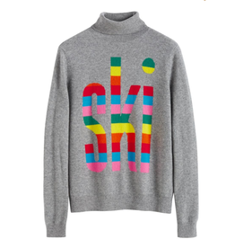 Chinti and Parker Rainbow Ski Sweater