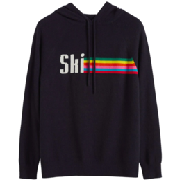 Chinti and Parker Ski Stripe Hoodie