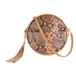Brave Leather Fausset Leather Circle Bag