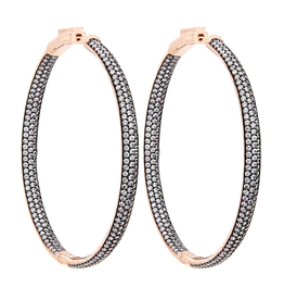 Nickho rey Statement Hoop Earring