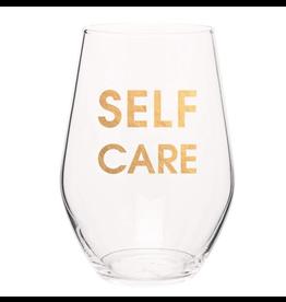 Chez Gagne Self Care Wine Glass