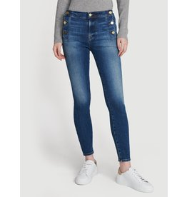 Frame LE HIGH SKINNY SIDE BUTTON