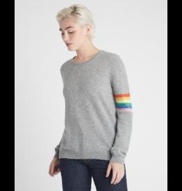 Jumper Lurex Stripe Rainbow Sweater