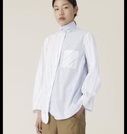 Ganni Cotton Button-Up