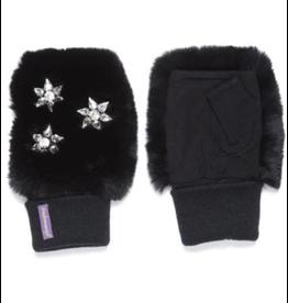 Glamourpuss Embellished Fingerless Gloves