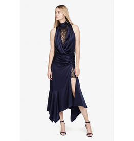 Jonathan Simkhai Jonathan Simkhai SILK LACE SLIT DRESS