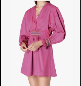 Derek Lam - 10 Crosby KATERINA DRESS W/ SMOCKING DETAIL