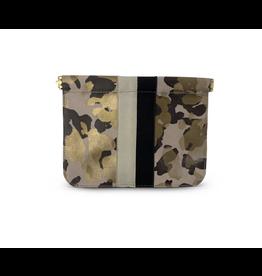 Kempton & Co. Camo Blush Snap Makeup Bag
