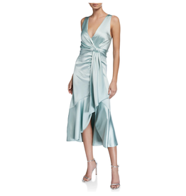 Jonathan Simkhai MIA FLUID SATIN DRESS