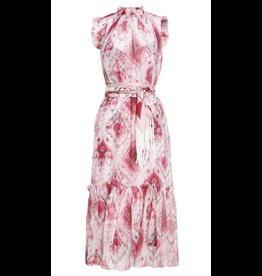 Zimmermann Wavelength Frilled Midi Dress