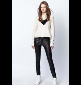 Zadig & Voltaire Lili Heart Sweater