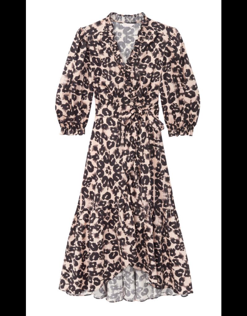 Rebecca Taylor Rebecca Taylor Short Sleeve Kaleidoscope Dress