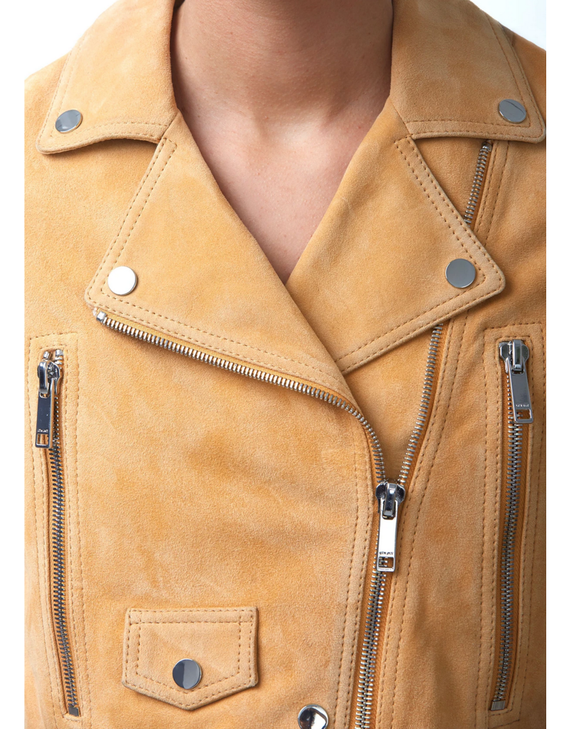 LTH JKT LTH JKT MAI Cropped Suede Jacket
