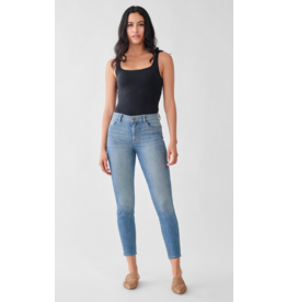 DL1961 Florence Cropped: Mid Rise Skinny